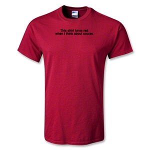 Utopia This Turns Red T-Shirt (Red)