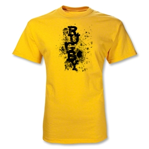Rugby Graffiti T-Shirt (Yellow)