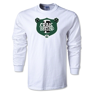 Craic Dealer Alternative Rugby Commentary LS T-Shirt (White)