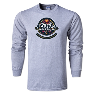 Tartan Mafia Alternative Rugby Commentary LS T-Shirt (Gray)