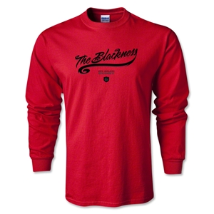 The Blackness Alternative Rugby Commentary LS T-Shirt (Red)
