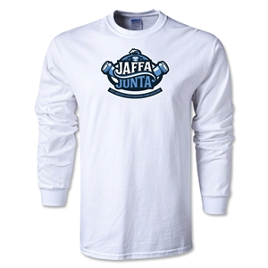 Jaffa Junta Alternative Rugby Commentary LS T-Shirt (White)