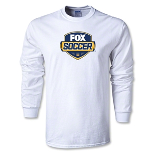 Fox Soccer LS T-Shirt (White)