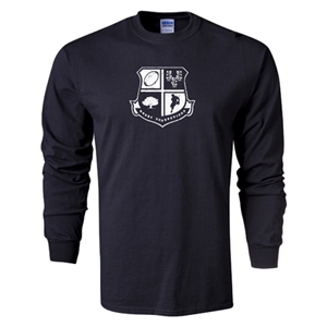 Rugby Connecticut Long Sleeve Shield T-Shirt (Black)