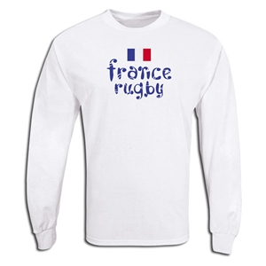 France Supporter LS Rugby T-Shirt