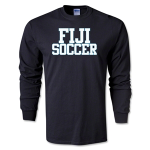 Fiji Soccer Supporter LS T-Shirt (Black)
