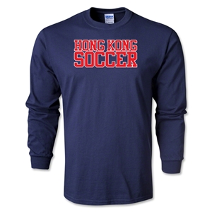 Hong Kong Soccer Supporter LS T-Shirt (Navy)