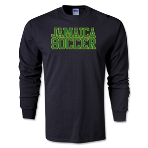 Jamaica Soccer Supporter T-Shirt (Black)