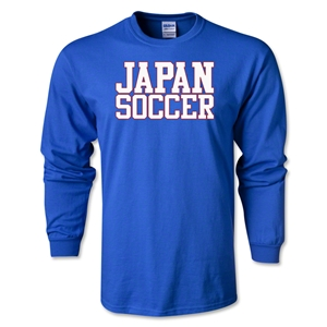 Japan Soccer Supporter LS T-Shirt (Royal)