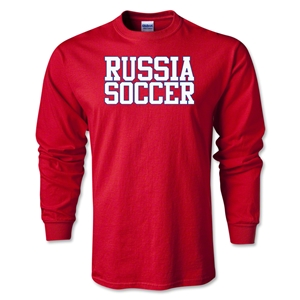 Russia Soccer Supporter LS T-Shirt (Red)