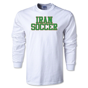 Iran Soccer Supporter LS T-Shirt (White)