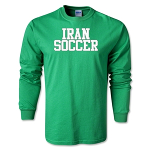 Iran Soccer Supporter LS T-Shirt (Green)