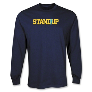 StandUp Long Sleeve Navy T-Shirt