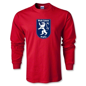 Utah Lions Rugby LS T-Shirt (Red)