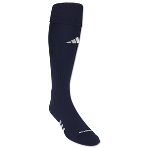 adidas NCAA Formo Elite Irreg Soccer Socks 3-Pack (Navy/White)