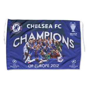 Chelsea 2012 UCL Winners Flag