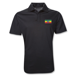 Ethiopia Polo Shirt (Black)