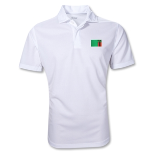 Zambia Polo Shirt (White)