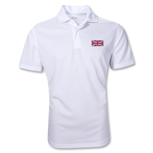 Great Britain Flag Polo (White)