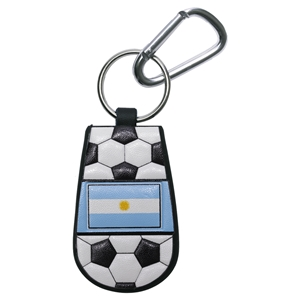 Argentina Flag Soccer Key Chain