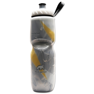 Polar Insulated Pattern Water Bottle 24 oz. (Yellow)