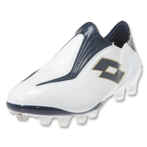 Lotto Zhero Gravity Ultra FG Soccer Shoes (Bright White/Metal Blue)