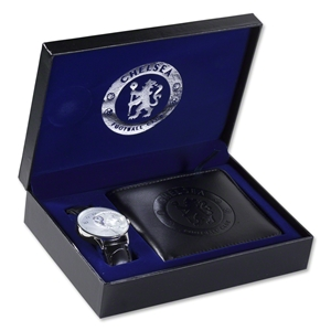 Chelsea Analog Watch and Wallet Set
