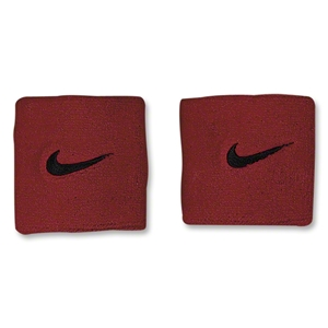 Nike Swoosh Wristbands (Red)