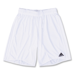 adidas Equipo Youth Soccer Shorts (White)