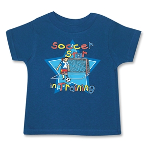 Soccer Star in Training T-Shirt (Navy)