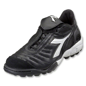 Diadora Maracana TF Women's Turf Soccer Shoes (Black/White)