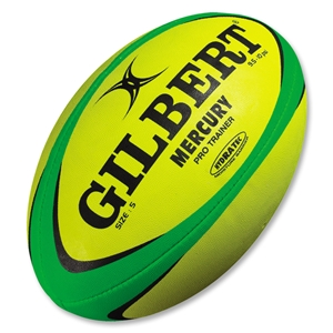 Gilbert Mercury Pro Trainer Rugby Ball (Fluorescent)