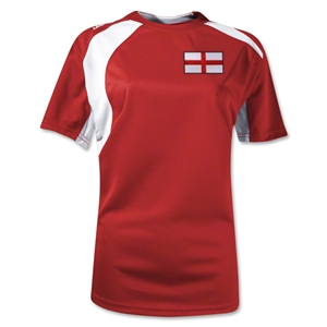 England Gambeta Women's Soccer Jersey (Red)