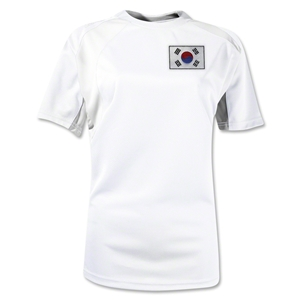 South Korea Gambeta Women's Soccer Jersey (White)