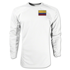 Colombia Gambeta LS Soccer Jersey (White)