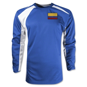 Colombia Gambeta LS Soccer Jersey (Royal)