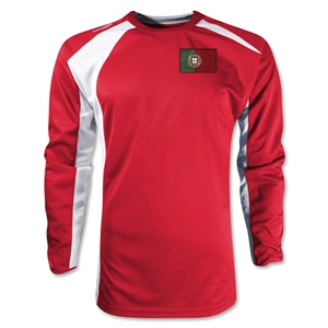 Portugal Gambeta LS Soccer Jersey (Red)