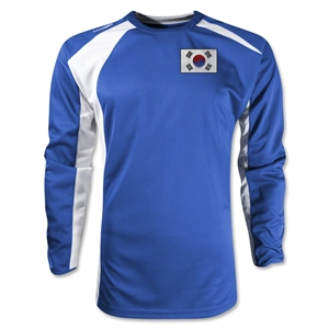 South Korea Gambeta LS Soccer Jersey (Royal)