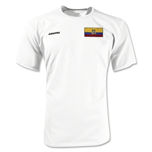 Ecuador Torino Soccer Jersey (White)
