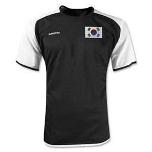 South Korea Torino Soccer Jersey (Black)