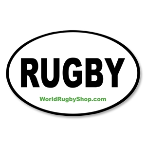 RUGBY Bumper Sticker
