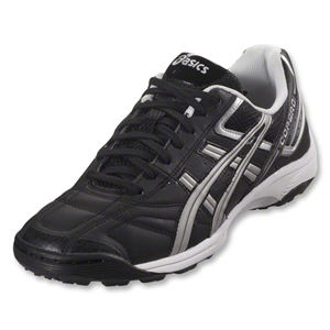 Asics Copero S Turf Shoes (Black/Silver/Black)