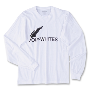 Objectivo All Whites LS Soccer T-Shirt (White)