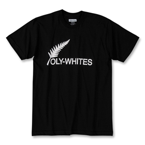 Objectivo All Whites Soccer T-Shirt (Black)