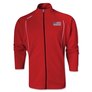 USA Torino Zip Up Jacket (Red)