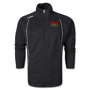 Burkina Faso Torino Zip Up Jacket (Black)