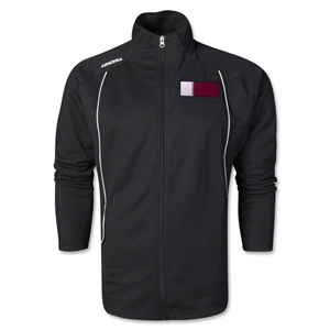 Qatar Torino Zip Up Jacket (Black)