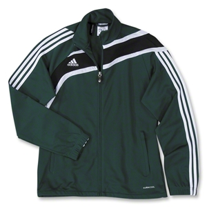 adidas Women's Tiro Training Jacket (Dark Green)