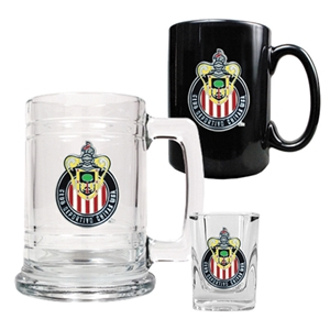 Chivas USA 3 Piece Drinkware Set