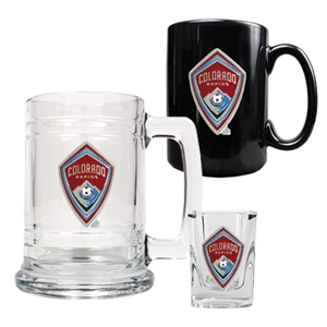 Colorado Rapids 3 Piece Drinkware Set
